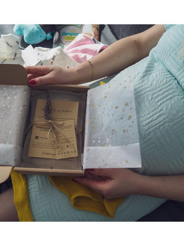 Termofor z pestkami wiśni Lniany Mini Miętowy